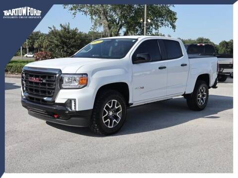 2021 GMC Canyon for sale at BARTOW FORD CO. in Bartow FL