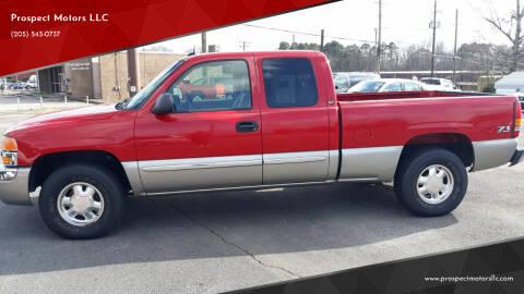 2003 GMC Sierra 1500 for sale at Prospect Motors LLC in Adamsville AL