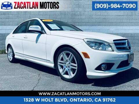 2008 Mercedes-Benz C-Class for sale at Ontario Auto Square in Ontario CA
