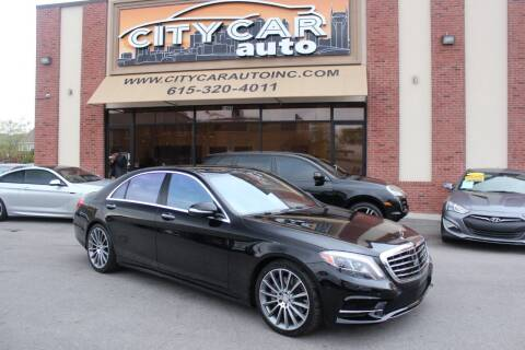2016 Mercedes-Benz S-Class for sale at CITY CAR AUTO INC in Nashville TN