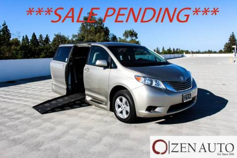 2015 Toyota Sienna for sale at Zen Auto Sales in Sacramento CA