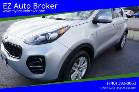 2017 Kia Sportage for sale at EZ Auto Broker in Mount Vernon OH