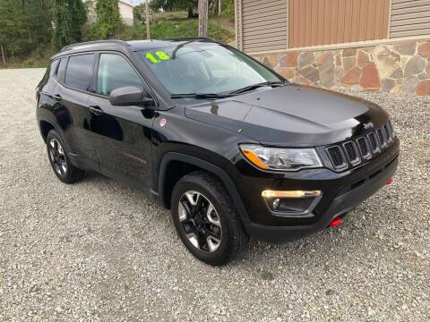 2018 Jeep Compass for sale at Watts Auto Sales in New Alexandria PA