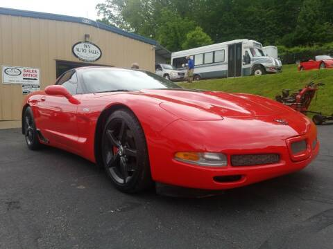 2002 Chevrolet Corvette for sale at W V Auto & Powersports Sales in Cross Lanes WV