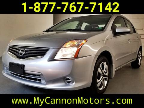 2011 Nissan Sentra for sale at Cannon Motors in Silverdale PA