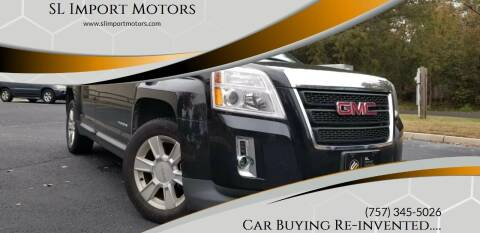 2012 GMC Terrain for sale at SL Import Motors in Newport News VA