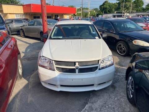2009 Dodge Avenger for sale at FREDY KIA USED CARS in Houston TX