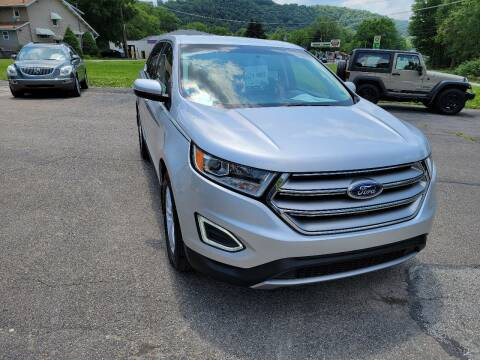 2015 Ford Edge for sale at A - K Motors Inc. in Vandergrift PA