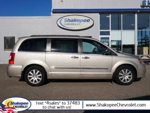 2012 Chrysler Town and Country for sale at SHAKOPEE CHEVROLET in Shakopee MN