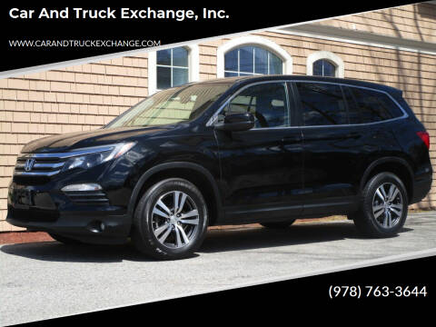 2016 Honda Pilot for sale at Car and Truck Exchange, Inc. in Rowley MA