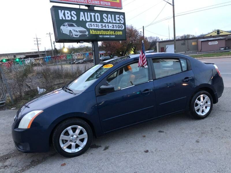 2007 Nissan Sentra for sale at KBS Auto Sales in Cincinnati OH