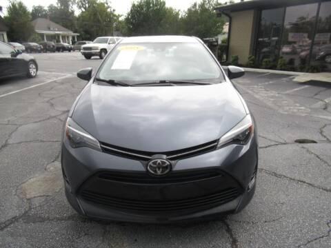 2018 Toyota Corolla for sale at Maluda Auto Sales in Valdosta GA