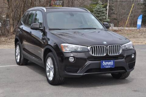 2015 BMW X3 for sale at Amati Auto Group in Hooksett NH