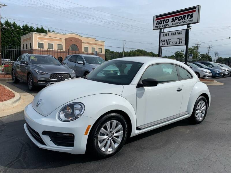 2017 Volkswagen Beetle for sale at Auto Sports in Hickory NC