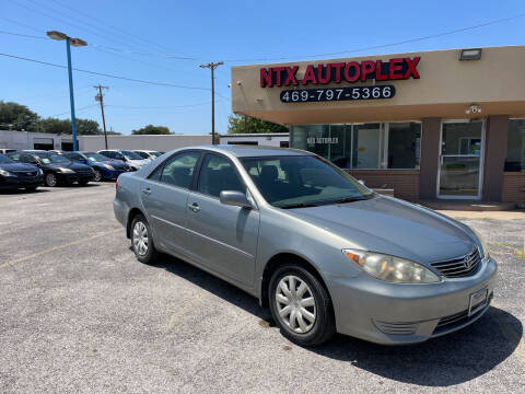 2005 Toyota Camry for sale at NTX Autoplex in Garland TX