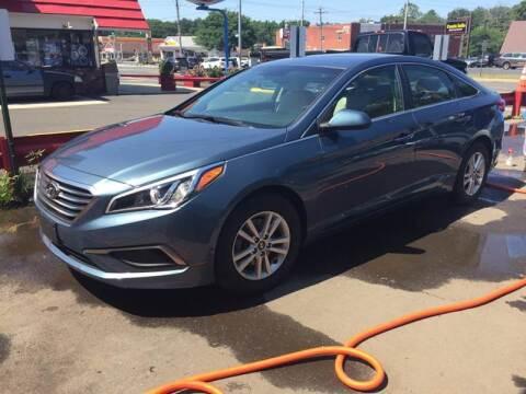 2017 Hyundai Sonata for sale at MELILLO MOTORS INC in North Haven CT
