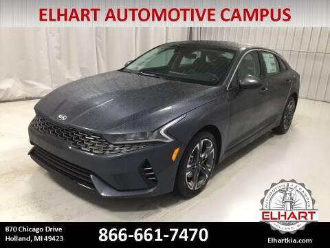 2021 Kia K5 for sale at Elhart Automotive Campus in Holland MI