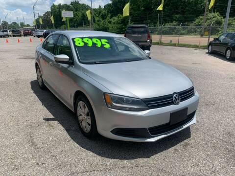 2013 Volkswagen Jetta for sale at Super Wheels-N-Deals in Memphis TN