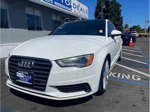 2016 Audi A3 for sale at AutoDeals in Hayward CA