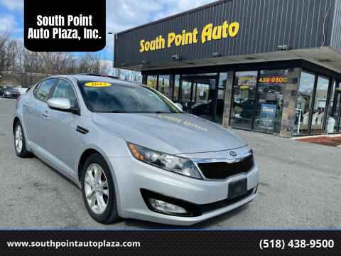2013 Kia Optima for sale at South Point Auto Plaza, Inc. in Albany NY