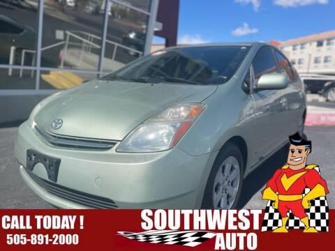 2006 Toyota Prius for sale at SOUTHWEST AUTO in Albuquerque NM