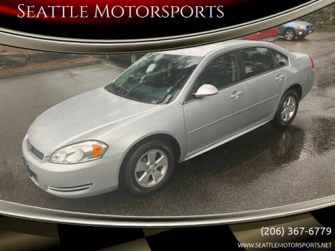 2011 Chevrolet Impala for sale at Seattle Motorsports in Shoreline WA