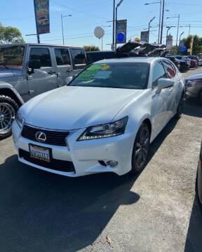 2013 Lexus GS 350 for sale at 2955 FIRESTONE BLVD - 3271 E. Firestone Blvd Lot in South Gate CA