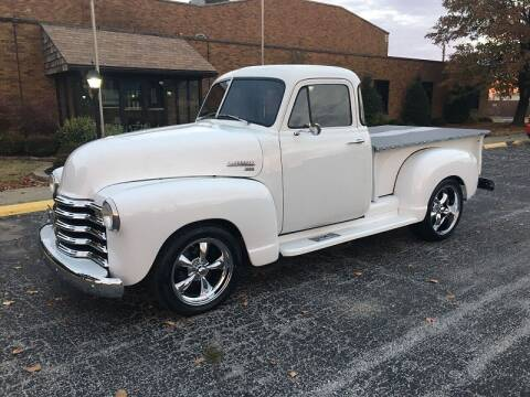 1951 Chevrolet 3100 for sale at NJ Enterprises in Indianapolis IN