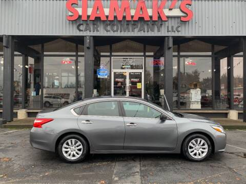 2016 Nissan Altima for sale at Siamak's Car Company llc in Salem OR