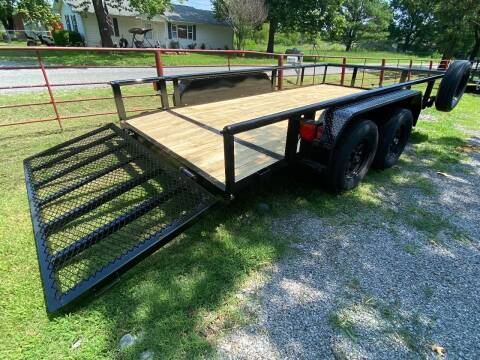 """2021 HD UTILITY TRAILER 83""""x14' 3500LB Axles for sale at TINKER MOTOR COMPANY in Indianola OK"""