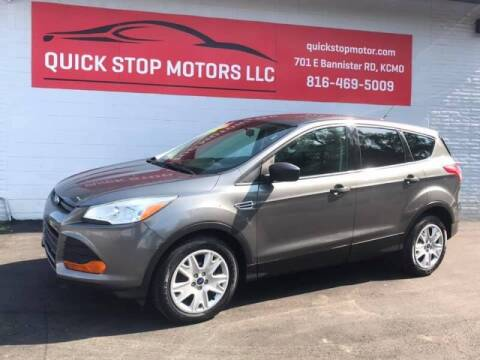 2014 Ford Escape for sale at Quick Stop Motors in Kansas City MO