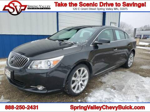 2013 Buick LaCrosse for sale at Spring Valley Chevrolet Buick in Spring Valley MN