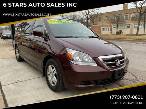 2007 Honda Odyssey for sale at 6 STARS AUTO SALES INC in Chicago IL