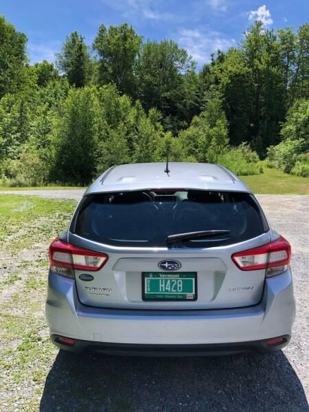 2019 Subaru Impreza AWD 2.0i 4dr Wagon CVT - East Barre VT