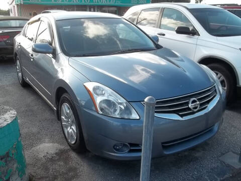 2012 Nissan Altima for sale at PJ's Auto World Inc in Clearwater FL