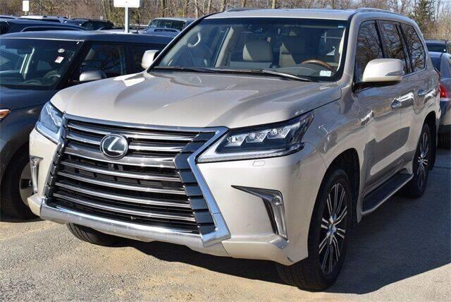 2018 Lexus LX 570 for sale at BOB ROHRMAN FORT WAYNE TOYOTA in Fort Wayne IN