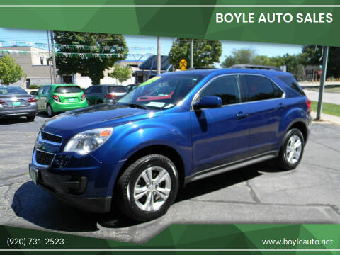 2010 Chevrolet Equinox for sale at Boyle Auto Sales in Appleton WI