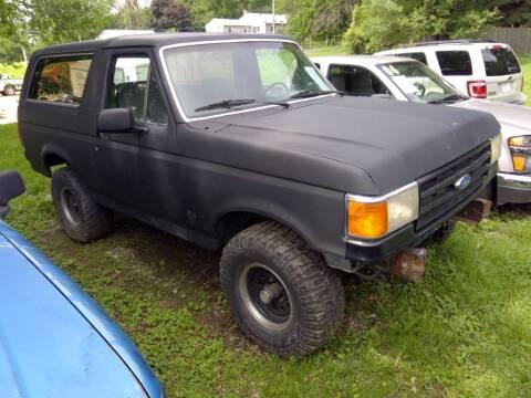 1988 Ford Bronco for sale at Regency Motors Inc in Davenport IA