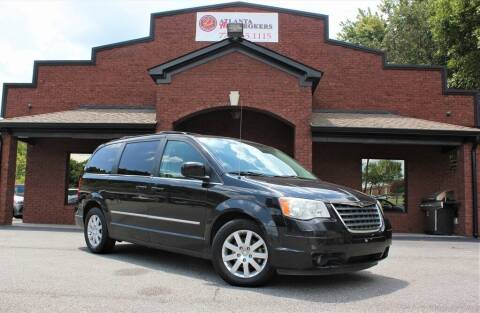 2010 Chrysler Town and Country for sale at Atlanta Auto Brokers in Cartersville GA