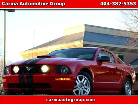 2008 Ford Mustang for sale at Carma Auto Group in Duluth GA