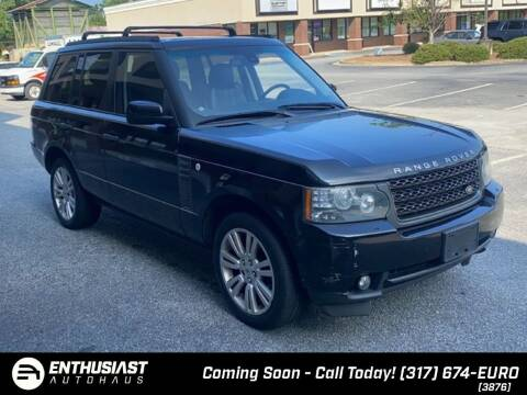 2011 Land Rover Range Rover for sale at Enthusiast Autohaus in Sheridan IN