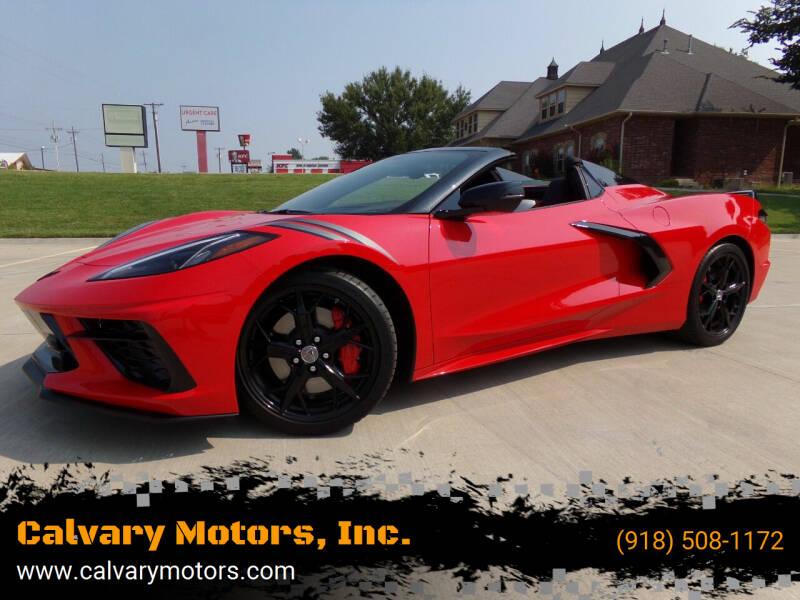 2021 Chevrolet Corvette for sale at Calvary Motors, Inc. in Bixby OK