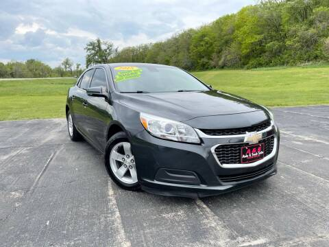 2015 Chevrolet Malibu for sale at A & S Auto and Truck Sales in Platte City MO