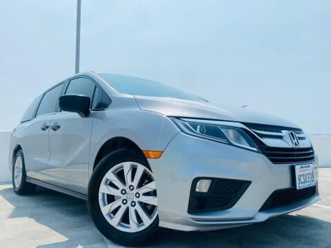2018 Honda Odyssey for sale at Bay Cars R Us in San Jose CA