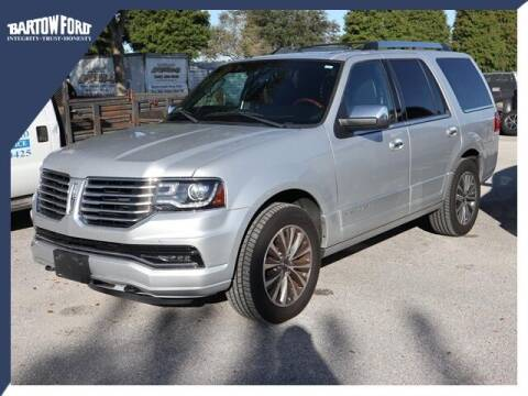 2015 Lincoln Navigator for sale at BARTOW FORD CO. in Bartow FL