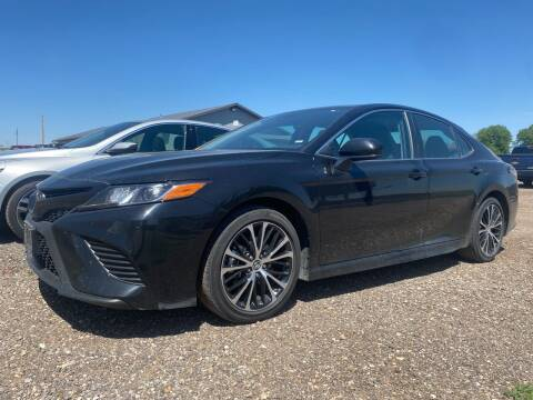 2019 Toyota Camry for sale at FAST LANE AUTOS in Spearfish SD
