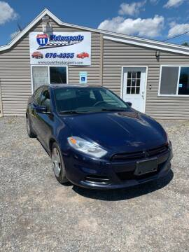 2013 Dodge Dart for sale at ROUTE 11 MOTOR SPORTS in Central Square NY