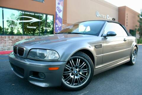 2002 BMW M3 for sale at CK Motors in Murrieta CA