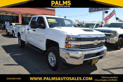 2017 Chevrolet Silverado 2500HD for sale at Palms Auto Sales in Citrus Heights CA