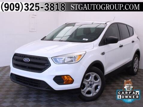 2017 Ford Escape for sale at STG Auto Group in Montclair CA